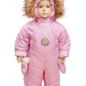 Комбинезон – трансформер 2в1 кролик Lapland 68-86 розовый
