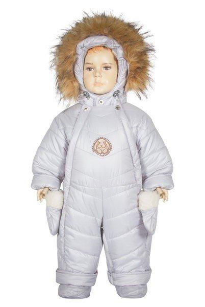 Комбинезон – трансформер 2в1 кролик Lapland 68-86 серый