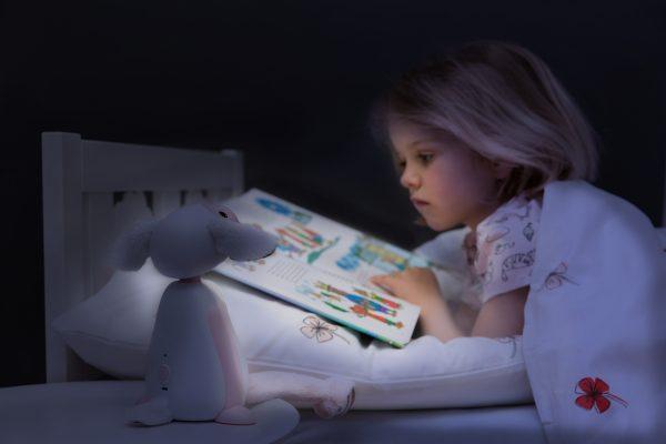 Детский ночник ZAZU барашек Фин синий