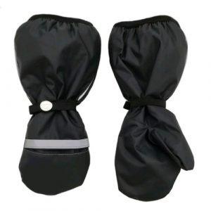 Непромокаемые рукавицы флис серые