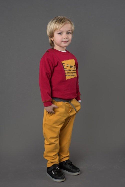 Толстовка для мальчика CANDYS бордо