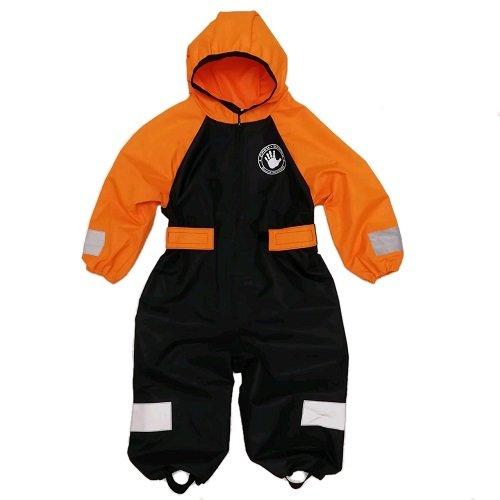 Комбинезон непромокаемый Спец-детка оранжевый с чёрным