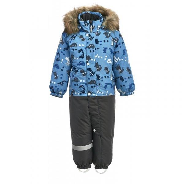 Зимний комбинезон KISU 98 голубой