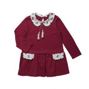 Платье для девочки CANDYS бордо