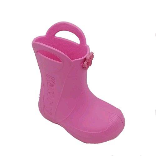 Детские сапоги ЭВА Каури с ушками розовые
