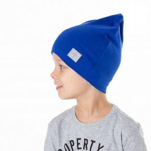 Шапка детская трикотажная HOHLOON синяя