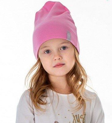 Шапка детская трикотажная HOHLOON розовая