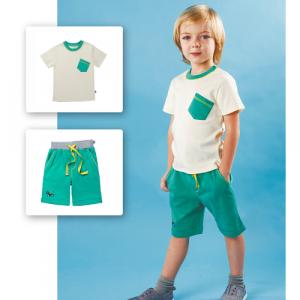 Шорты для мальчика CANDYS зеленые