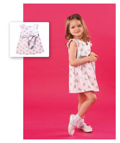 Платье для девочки CANDYS единороги