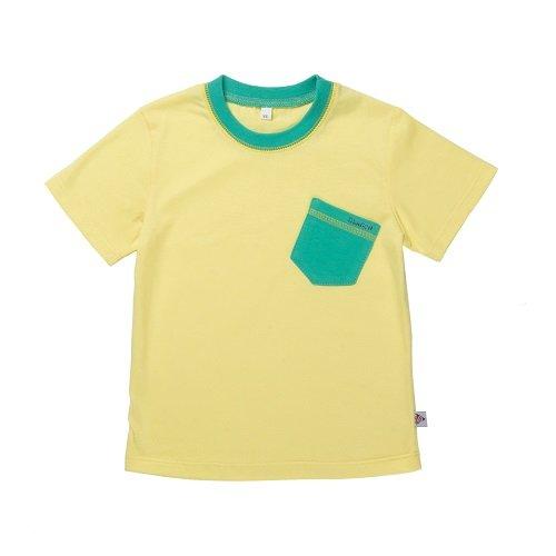 Футболка для мальчика CANDYS желтая