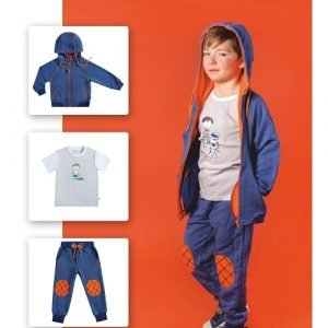 Брюки для мальчика CANDYS синие