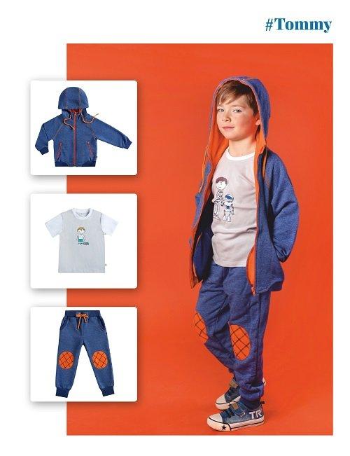 Толстовка для мальчика CANDYS синяя