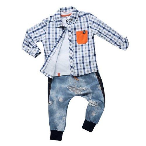 Брюки для мальчика CANDYS джинс