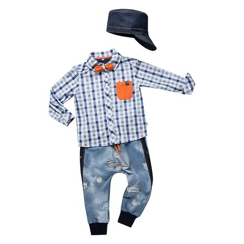 Кепка для мальчика CANDYS джинс