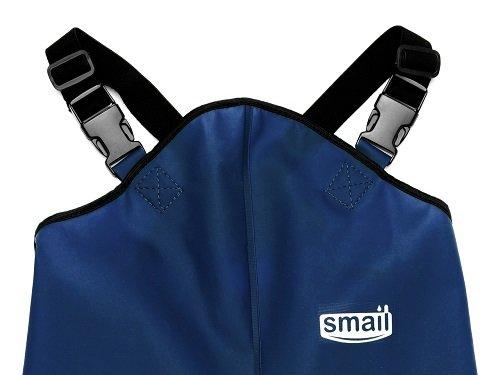 Непромокаемый полукомбинезон Smail т/синий