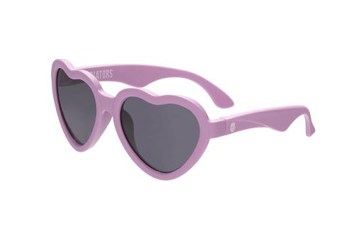 Солнцезащитные очки Babiators Сердечки розовые 3-5 лет