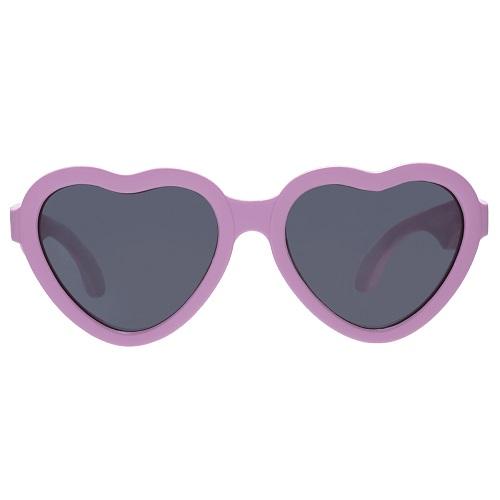 Солнцезащитные очки Babiators Сердечки розовые 0-2 года