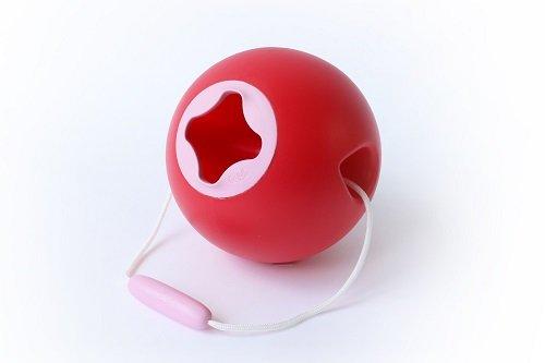 Игрушка для песка ведёрко Quut Ballo 1 л. вишневый