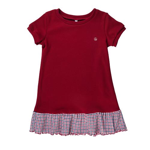 Платье для девочки CANDYS лето/бордо