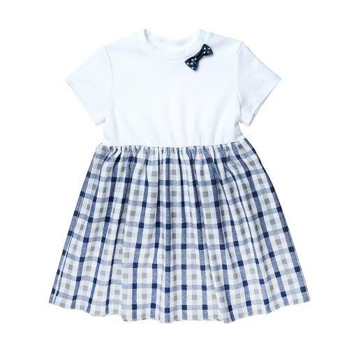 Платье для девочки CANDYS в синюю клетку