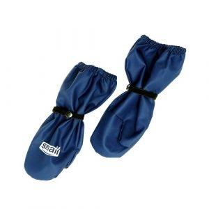 Непромокаемые рукавицы Smail т/синие