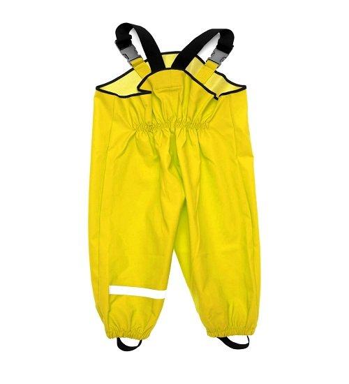 Непромокаемый полукомбинезон Smail желтый