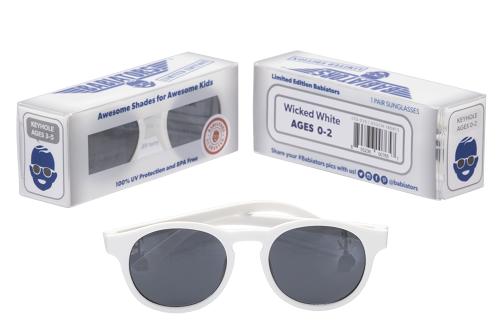 Солнцезащитные очки Babiators Keyhole Шаловливый белый 3-5 лет