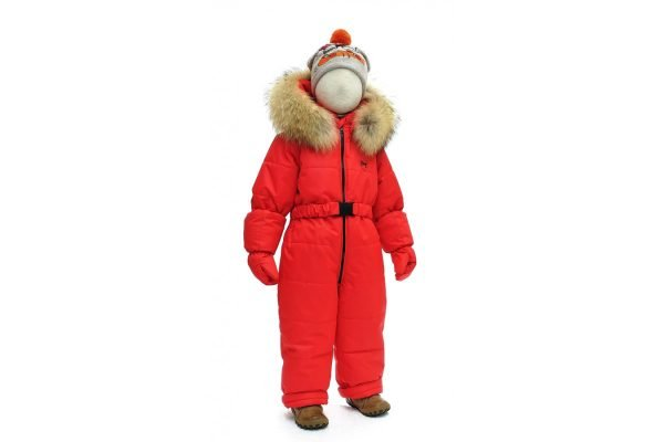 Зимний комбинезон PIKOLINO BY-M+L красный 98 размер