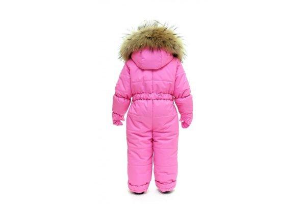 Зимний комбинезон с рукавицами PIKOLINO BY-M+L розовый