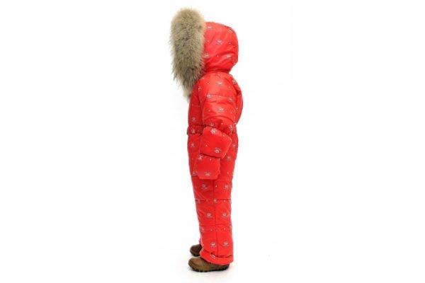 Зимний комбинезон PIKOLINO BYкорона+красный 80–104