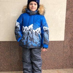 Зимний комплект для мальчика Lapland горы 98-116