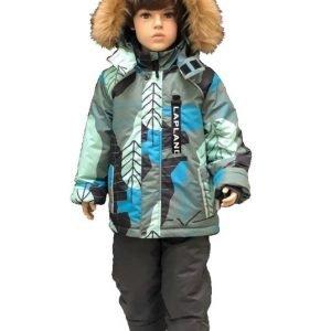 Зимний комплект для мальчика Lapland скаут 110-128