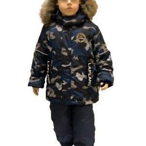 Зимний комплект для мальчика Lapland камуфляж 86-128