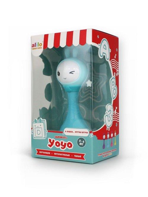 Умный зайка alilo R1+Yoyo голубой