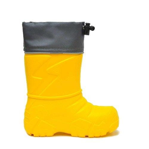 Детские сапоги ЭВА Nordman Kids со съемным мехом желтые