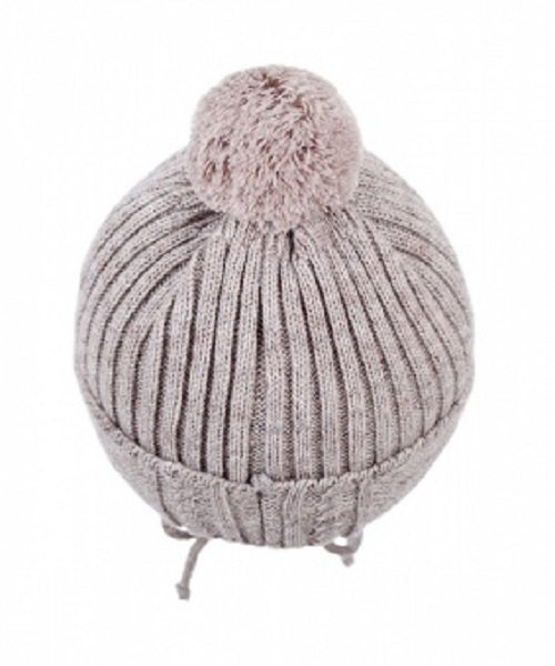 Зимняя шапка детская Cz-177 бежевый