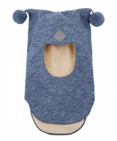Шапка-шлем детский Cb-22-01 джинсовый