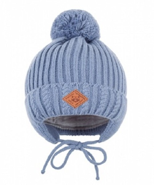Зимняя шапка детская Cz-177 джинсовый