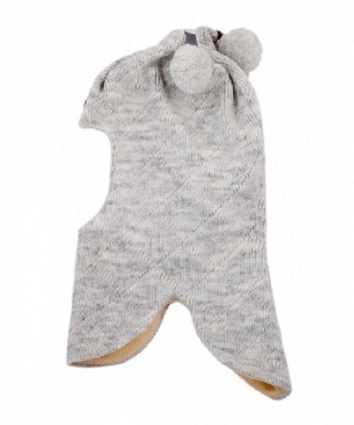 Шапка-шлем детский Cb-22-01 серый