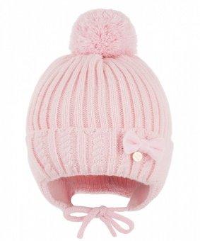 Зимняя шапка детская Cz -149 розовая