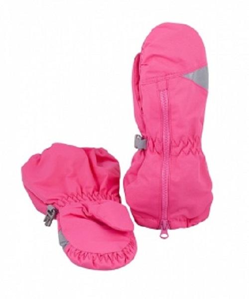 Рукавицы детские LM-42 темно-розовые