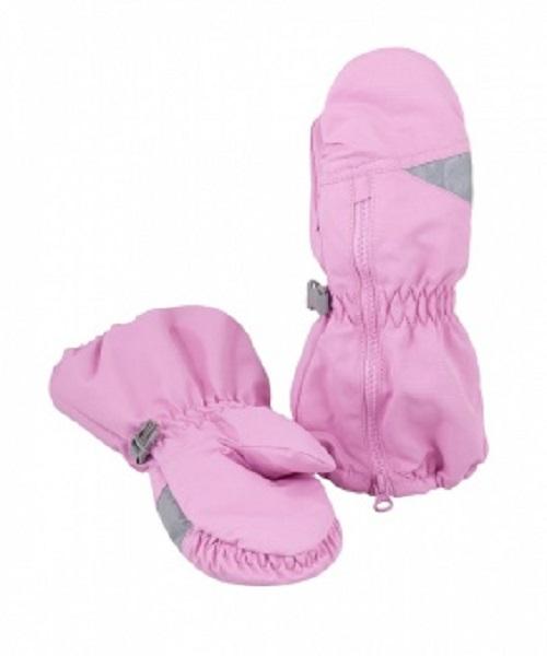 Рукавицы детские LM-42 светло-розовые