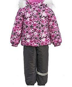 Зимний костюм для девочки KISU 86 розовый
