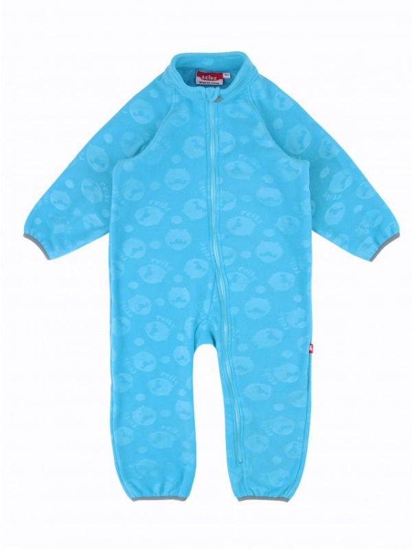 Флисовый комбинезон детский Reike голубой