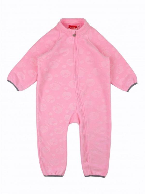 Флисовый комбинезон детский Reike розовый