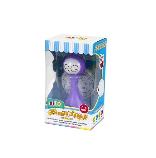 Умный зайка alilo R1 фиолетовый