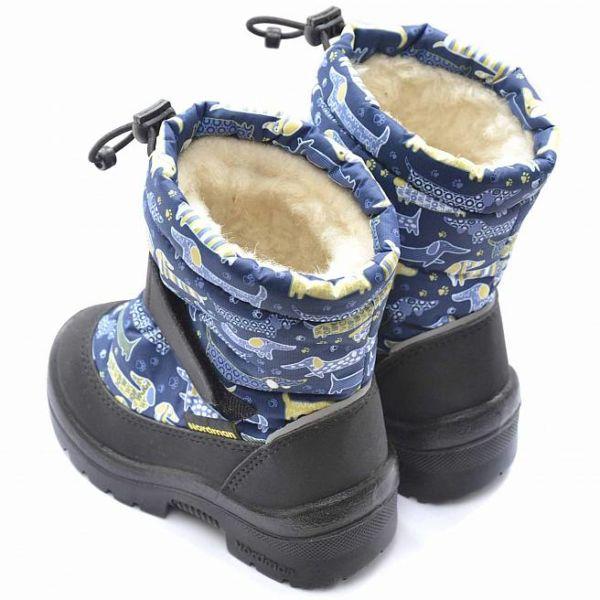 Зимние детские сапоги Nordman Mini синие 22 размер