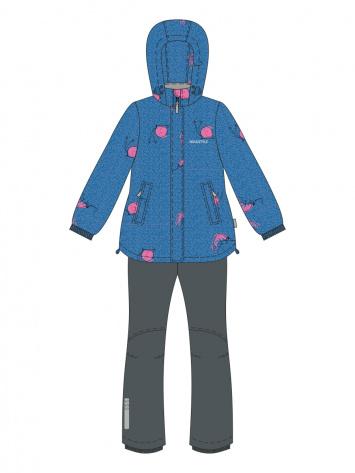 Демисезонный костюм NIKASTYLE 98-122 джинсовый
