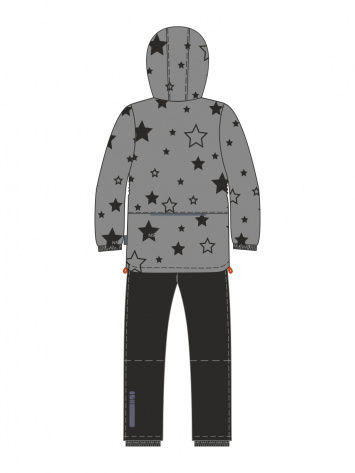 Демисезонный комплект NIKASTYLE 92-128 звёзды