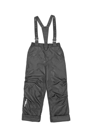 Демисезонные брюки  UKI kids 98-128 т/серый